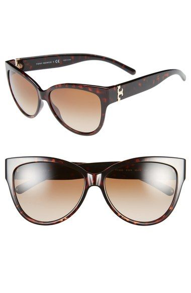 Tory Burch 59mm Cat Eye Sunglasses available at #Nordstrom
