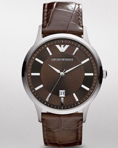 d5ad218286ee9 Emporio Armani Rentato Classic Brown Watch AR2413 Campbell Jewellers Dublin  Ireland. Dublín IrlandaRelojes De ArmaniEmporio ArmaniMarrónHombres