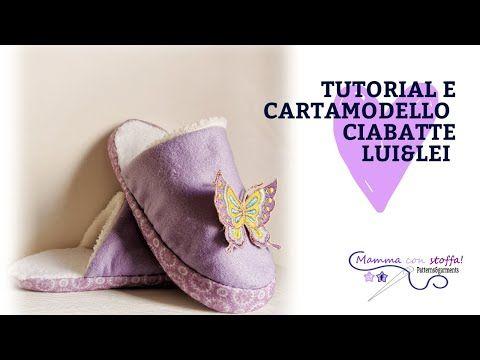 Photo of tutorial cucito PANTOFOLE O CIABATTINE per tutta la famiglia
