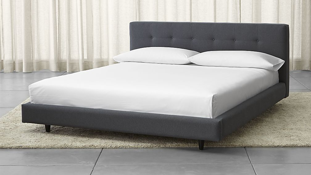 Tate California King Upholstered Bed 38\