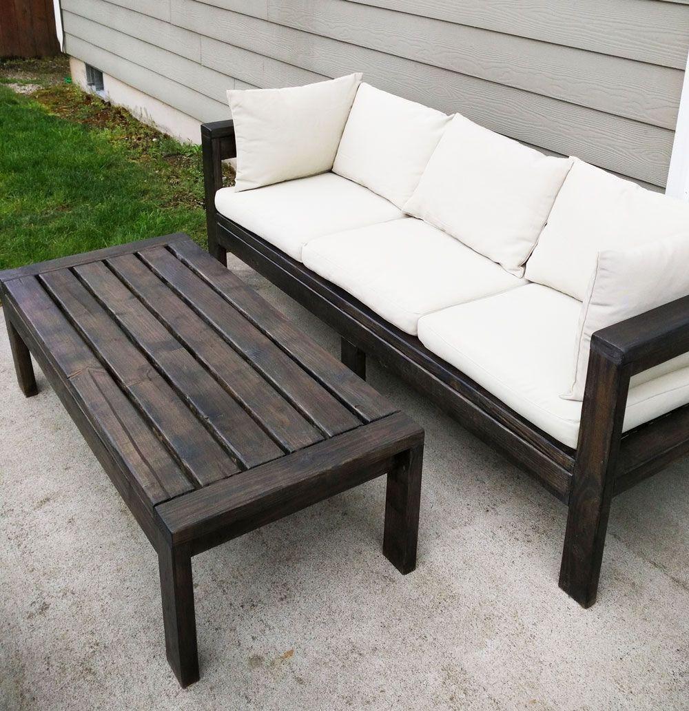 2x4 Outdoor Sofa