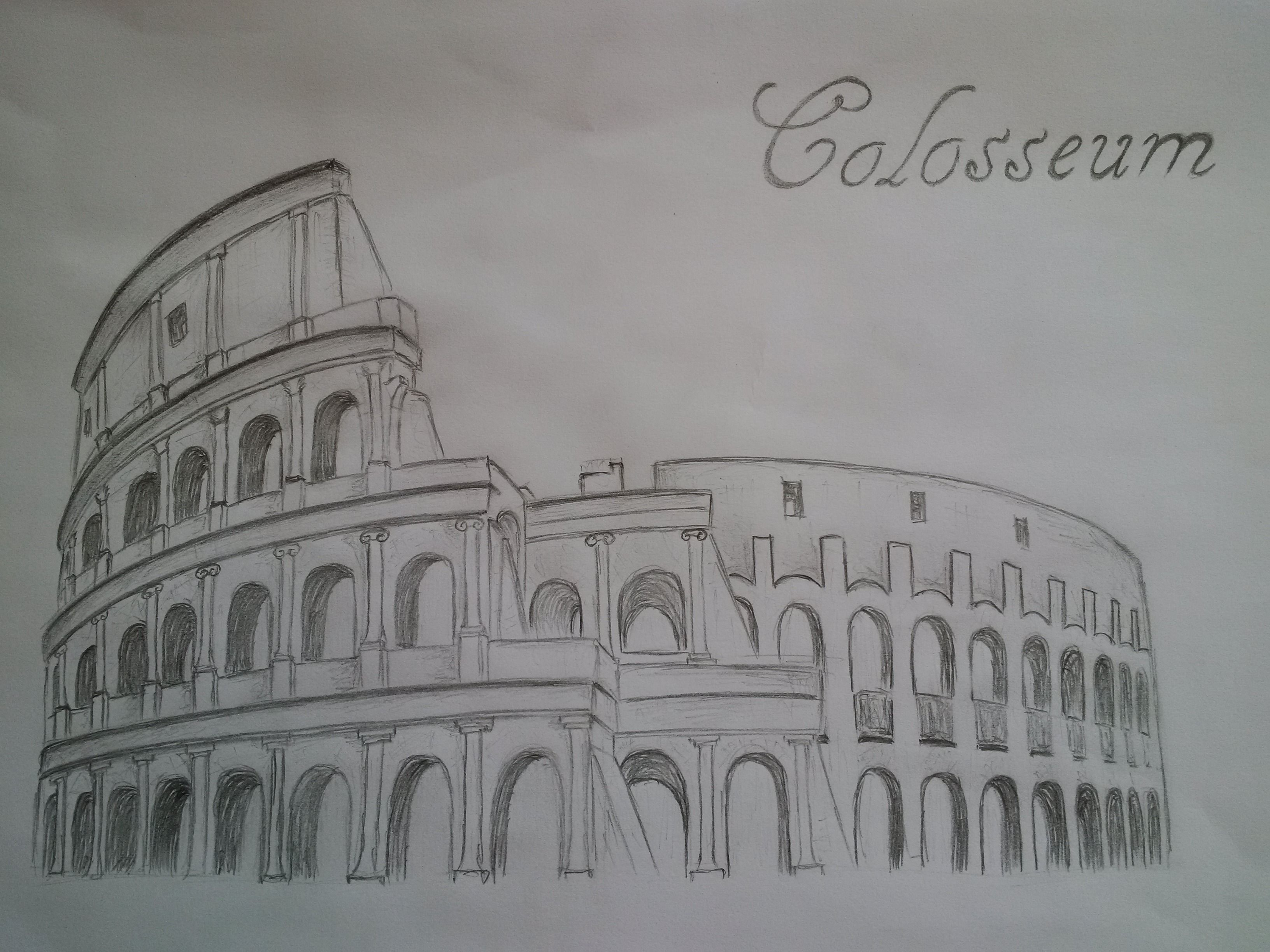 Drawing Colosseum ♥