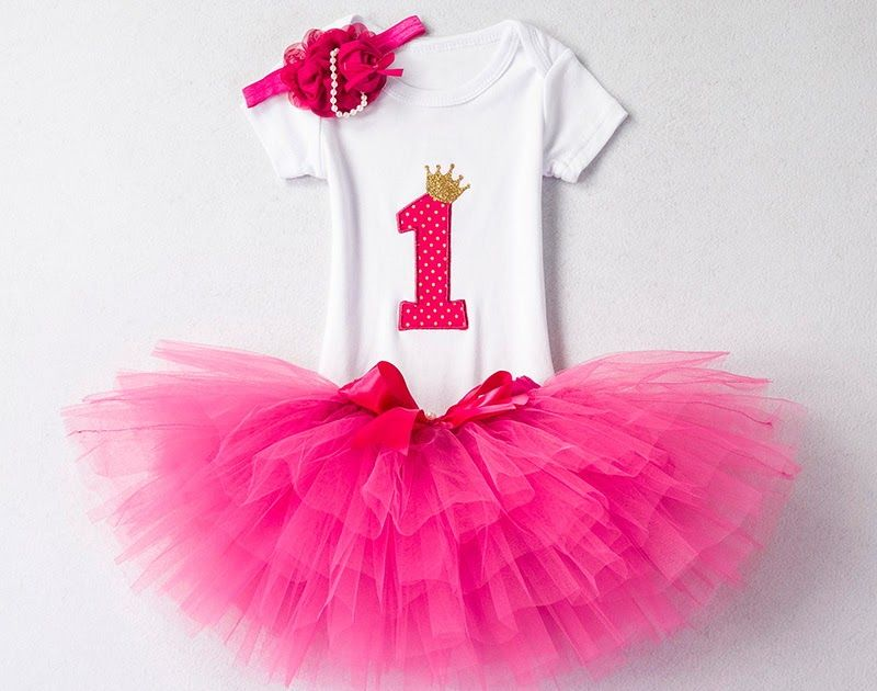8b30884a Baby Girl First Birthday Outfit Ensemble One Year Little Girl Dress  Clothing Baby Child Summer Clothes Infant Christening Suits