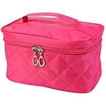 2cd24f5260c Bookear PU Leather Cosmetic Bags with Quality Zipper Single Layer Travel  Makeup Bags