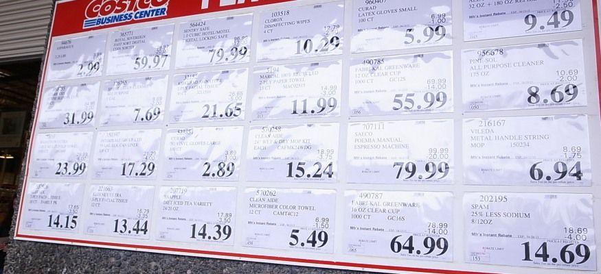 Secret pricing hacks at Costco, Sam's Club and BJs