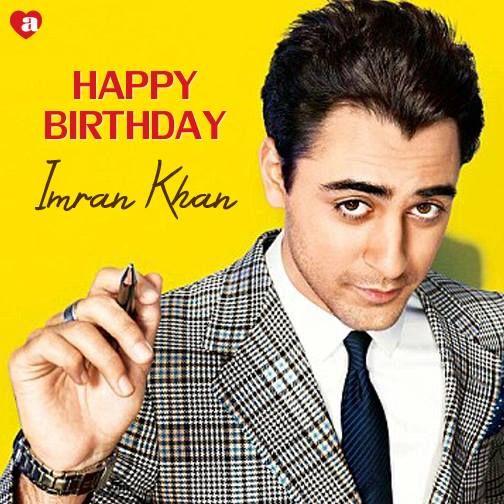 Happy birthday, Imran Khan! The \'Jaane Tu... Ya Jaane Na\' actor ...