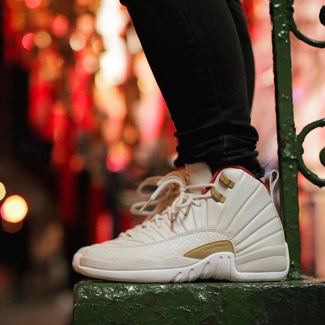 What Did You Wear Today Shop Our Feed Hit Link In Bio Air Jordan 12 Chinese New Year Gg Nitro Licious Wdywt For On Feet And Model Photos Wdywtgr