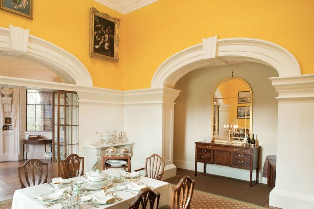 5 Modern Paint Colors That Work Surprisingly Well In Old Houses Yellow Paint Colors Modern Paint Colors Yellow Painting