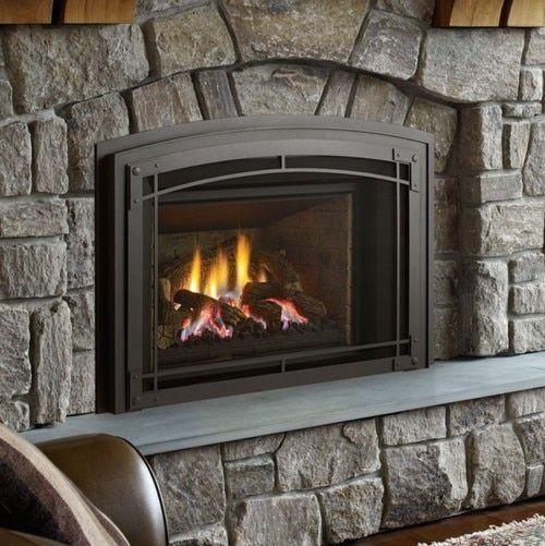 Regency Lri6e Gas Fireplace Insert In 2020 Gas Fireplace Insert