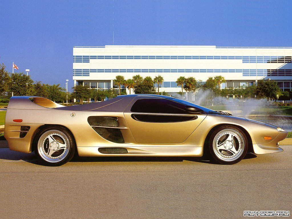 Vector M12 one of the rarest cars with 2 changing gears only & 14 ...
