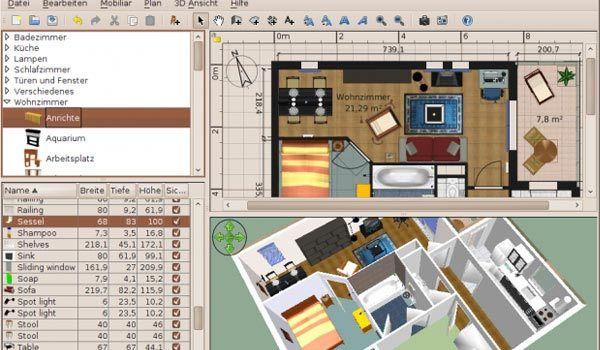 Cinco programas para dise o de interiores dise os que for Software decoracion interiores
