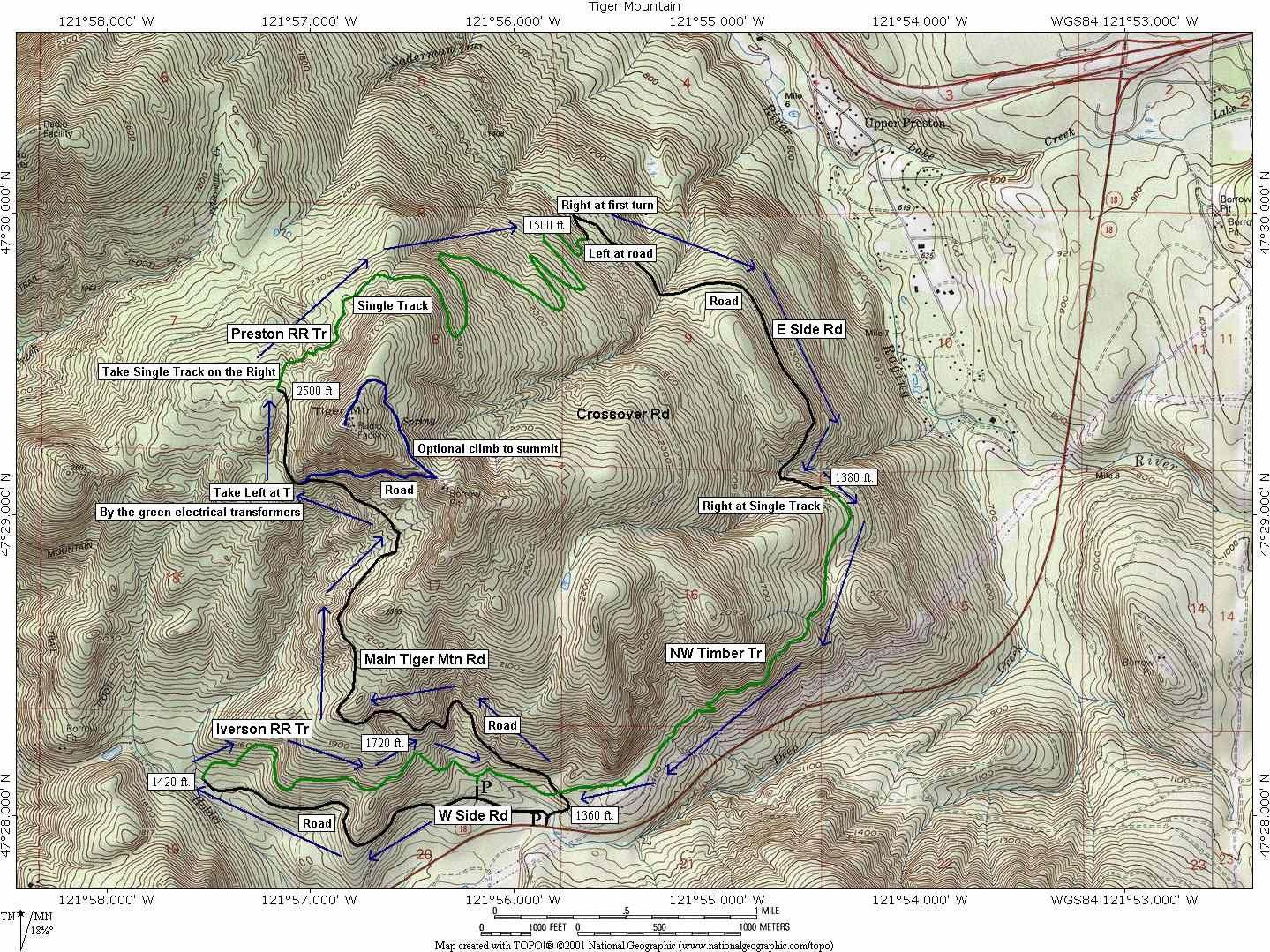 preston rail road | Tiger Mountain - Preston Railroad Trail &Northwest Timber Trail