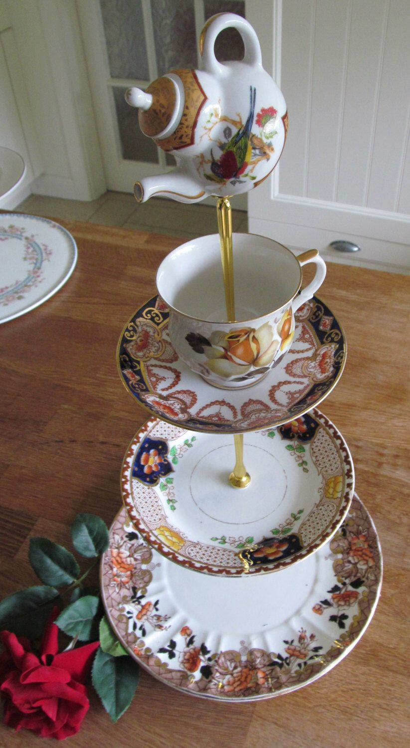 This Item Is Unavailable Vintage Cake Stands Teacup Crafts China Crafts