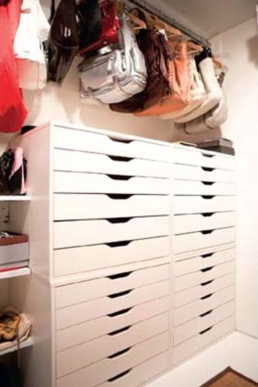 Stacked Alex Drawers