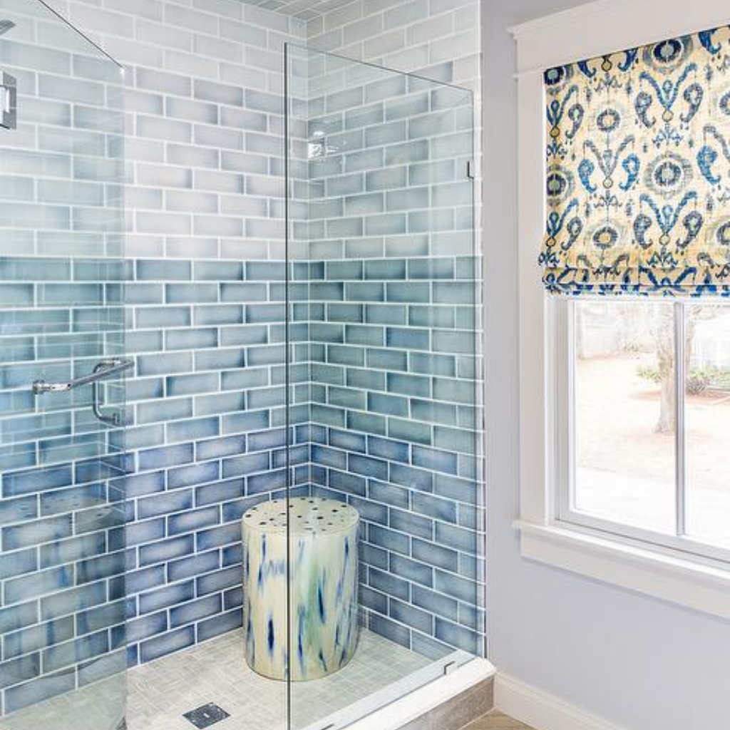 Ceramic Tile Shower Ideas Most Popular Ideas To Use Blue