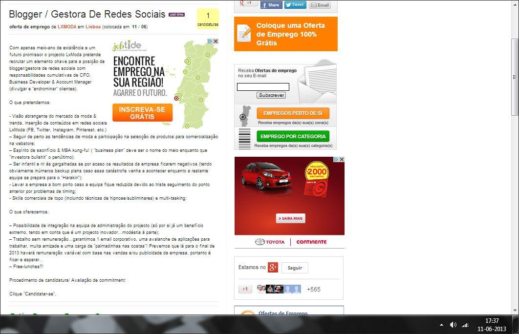 Anúncio online publicado pela LX Moda.  http://ganhemvergonha.pt/post/52941394641/com-apenas-meio-ano-de-existencia-e-um-futuro
