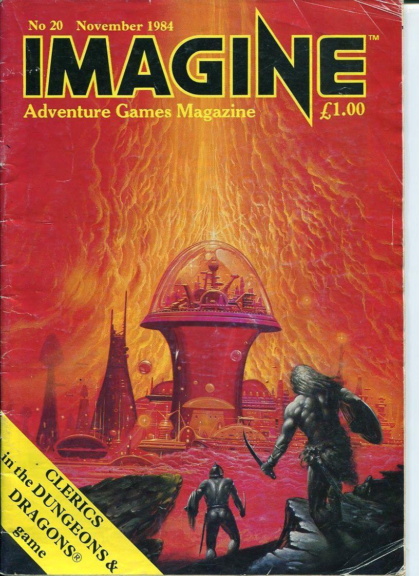 Image result for imagine magazine fantasy