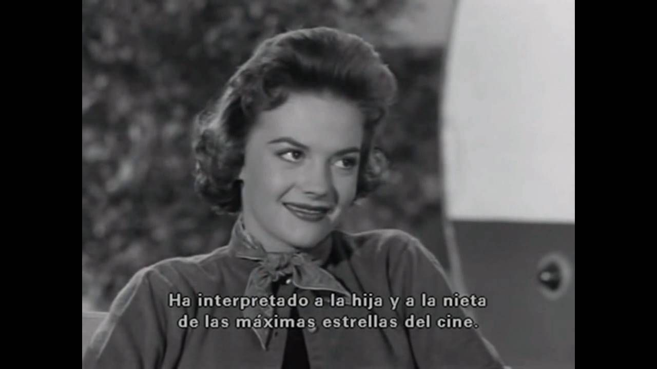 "NATALIE WOOD INTERVIEW ""REBEL WITHOUT A CAUSE"" 1955"