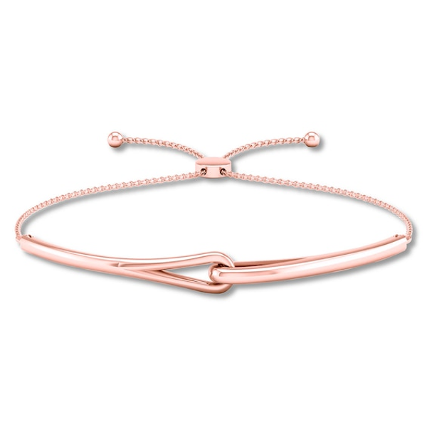 Love Be Loved Bolo Bracelet 10k Rose Gold Kay In 2020 Bracelets Gold Rose Gold