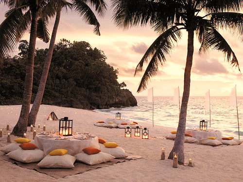 Sunset Meal, Thailand -- WOW!!! Can i have dinner here?!! Uhhh so relaxing