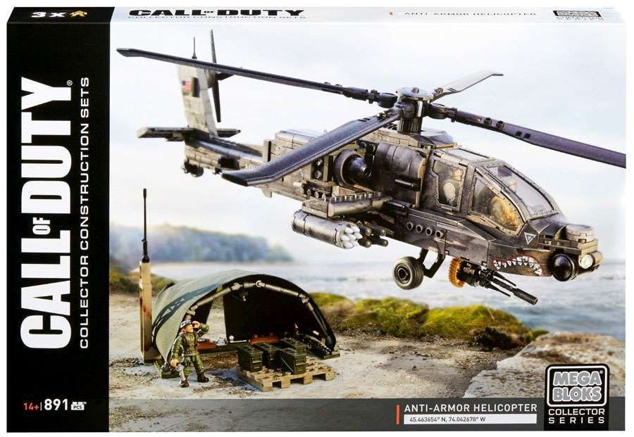 Mega Bloks Call Of Duty Anti Armor Helicopter Set 31283 Call Of Duty Toys Call Of Duty Mega Bloks
