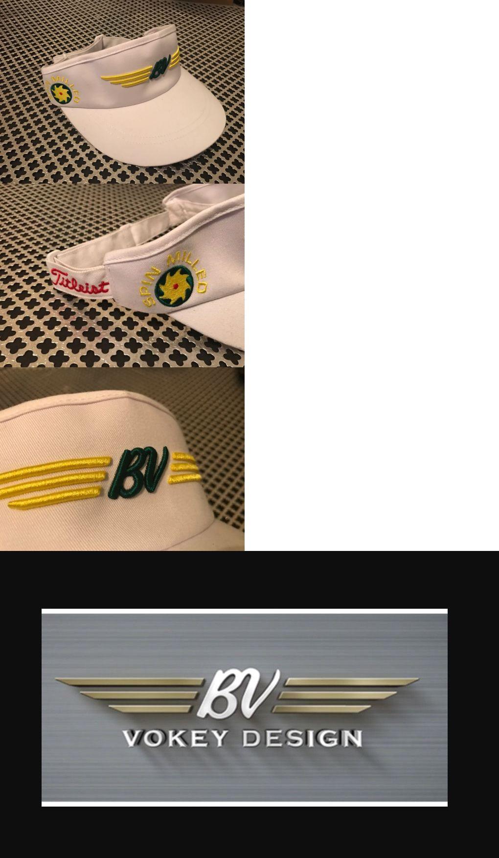 83127163a300f Golf Visors and Hats 158937  Titleist Bob Vokey  Bv  Logo Classic Style  Visor