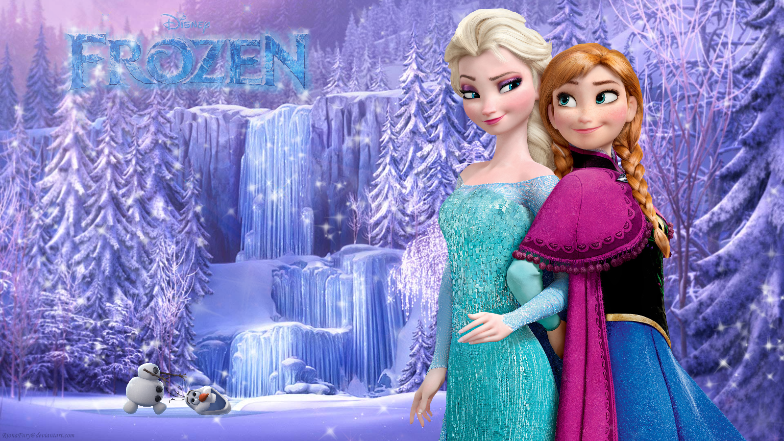 images of frozen | frozen sisters - frozen wallpaper (37732276