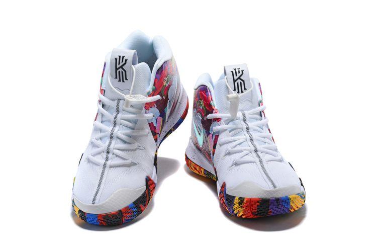 "Nike Kyrie 4 ""Madness NCAA"" White/Multi"