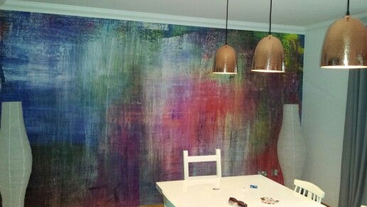 Dining room photowall