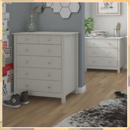 Chest Of Drawers Odalys Bedroom Storage Apartment Bedroom Storage Cute Bedroom Storage Design Bedroom In 2020 6 Drawer Chest Small Bedroom Storage Chest Of Drawers