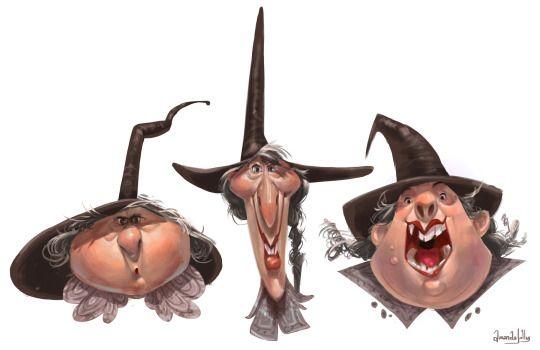 Jollylines Bruxas Bruxinhas Desenho E Fadas