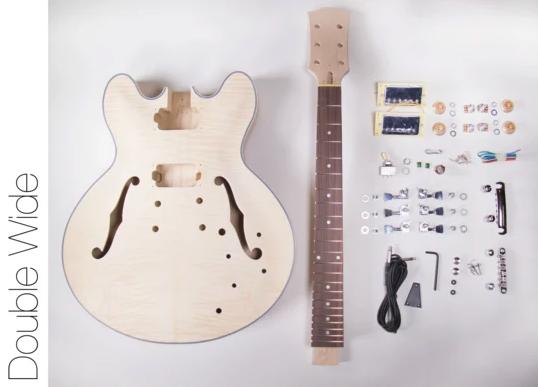Diy Electric Guitar Kit Singlecut Mahogany Style Build Your Own Guitar Kit In 2020 Guitar Kits Electric Guitar Kits Build Your Own Guitar