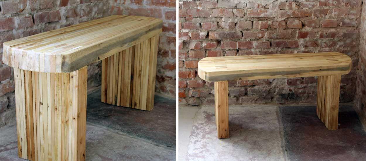 Construire un banc en bois de palette en DIY - Banc original en