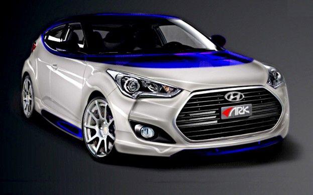 232 Hp Hyundai Veloster Alpine Concept Headed To Sema Show Hyundai Veloster New Hyundai Hyundai Cars