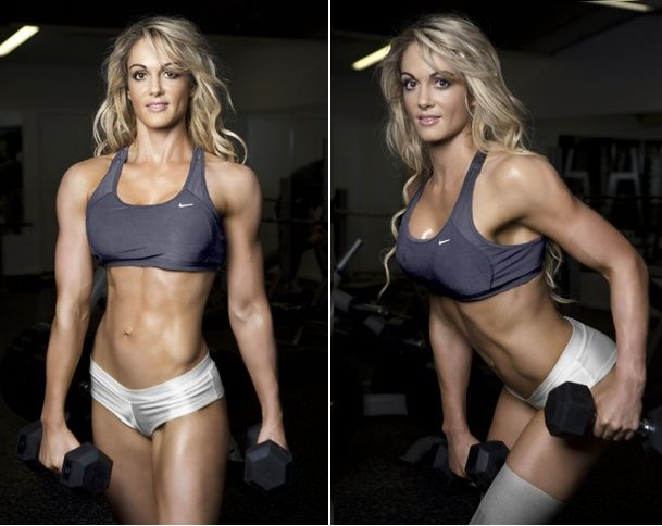 How to become a female body builder