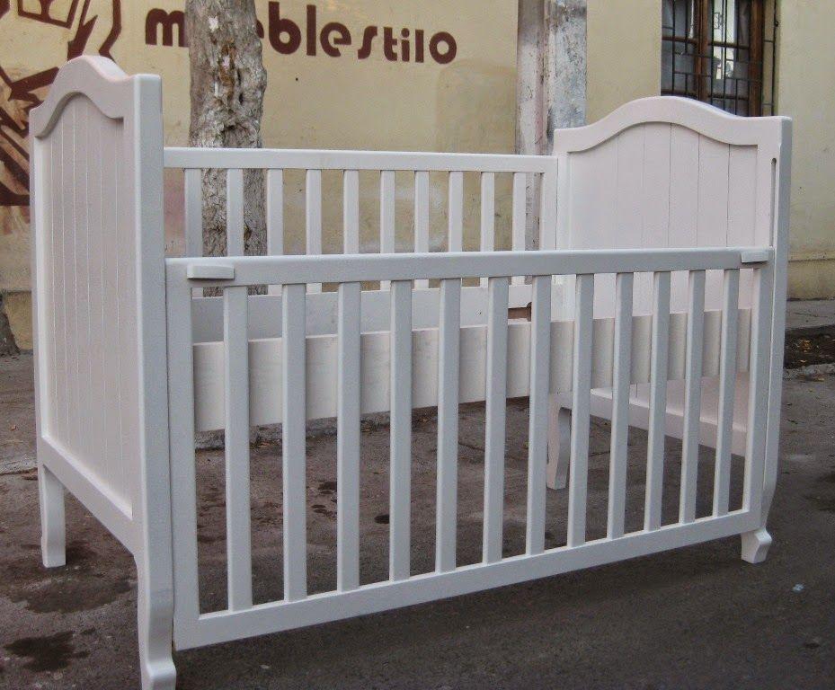 muebles de bebe: cuna 70 x 140 | Cosas para bebe | Pinterest
