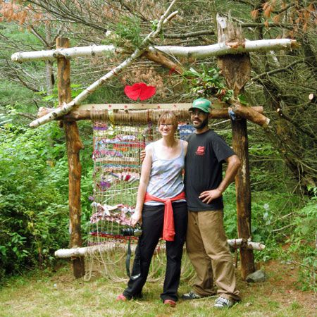 A family reunion in upstate New York was transformed into an EarthLoom celebration and bonding experience.