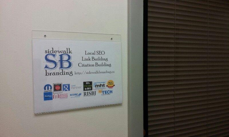 Rhode Island Seo Company Sidewalk Branding Company Award Winning Since 1997 Bg Before Google Branding Company Branding Brand Building