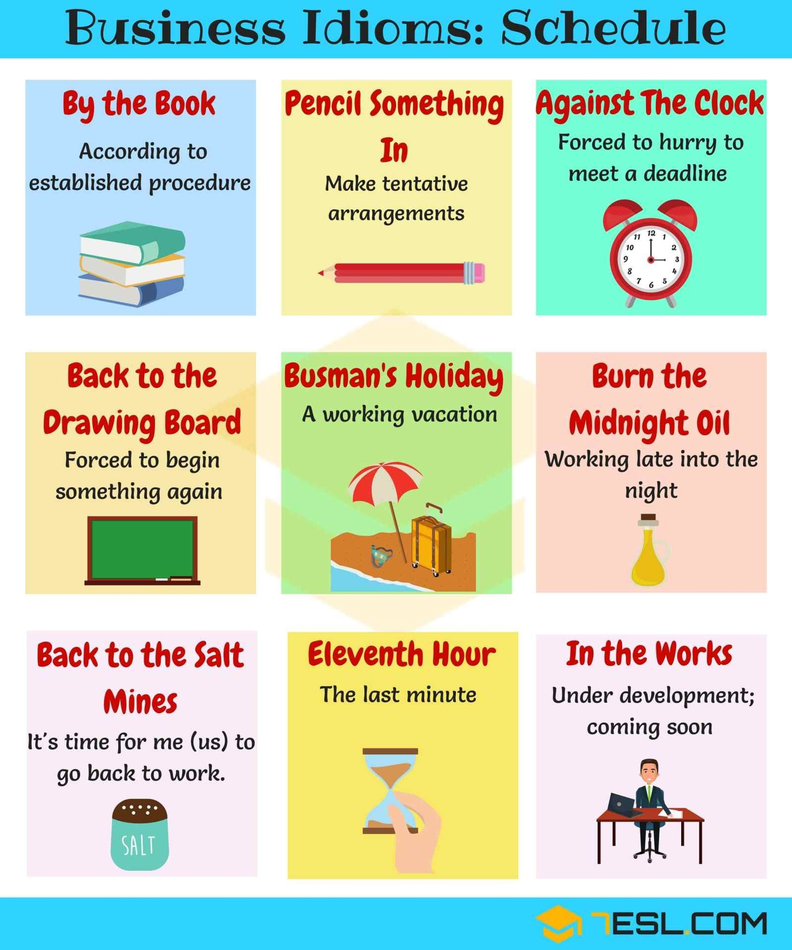 30 Popular Business English Idioms You Should Know