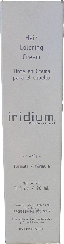 Iridium Hair Coloring Cream Formula 1 1 1/2 (8-CC) Light Blonde Gray Coverage 3 Oz ** Click image to review more details.