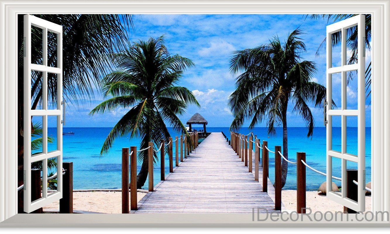 Tulum Palm Tree Vintage Travel Mouse Pad Zazzlecom In 2019
