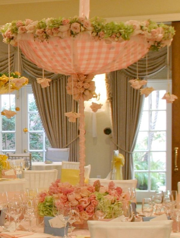Pictures Of Decorated Umbrellas For Baby And Bridal Showers Baby