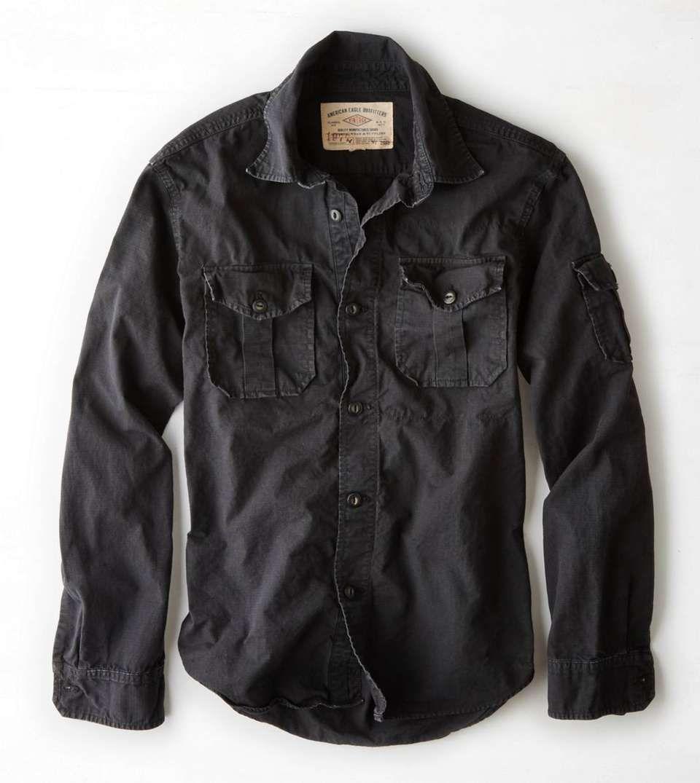 Wantering Vintage Workwear Shirts Shirts Casual Shirts For Men