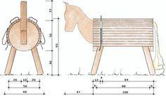 pin von andrea bezold auf stall holzpferd holz und pferde. Black Bedroom Furniture Sets. Home Design Ideas