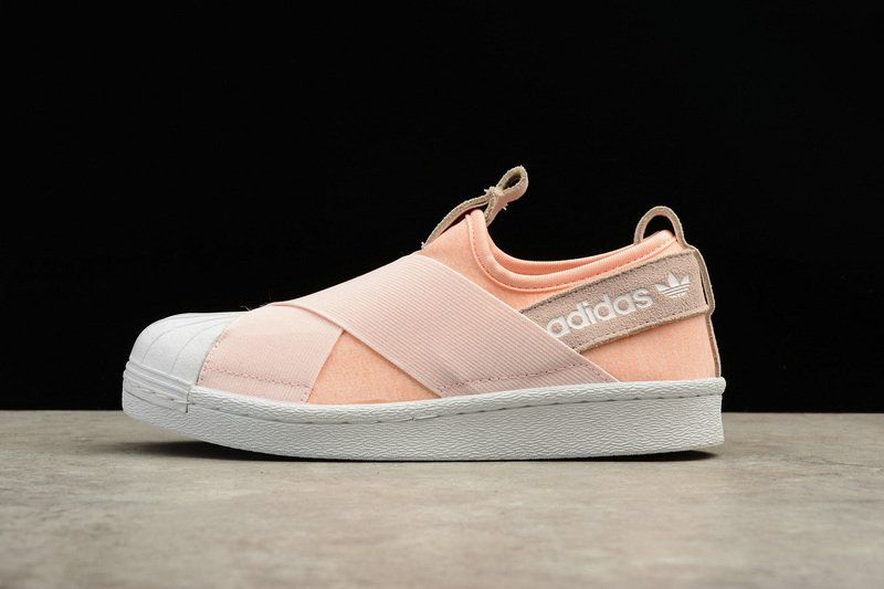 more photos 29294 a8793 UK Trainers 2018 Women Adidas Superstar Slip On Rose White ...