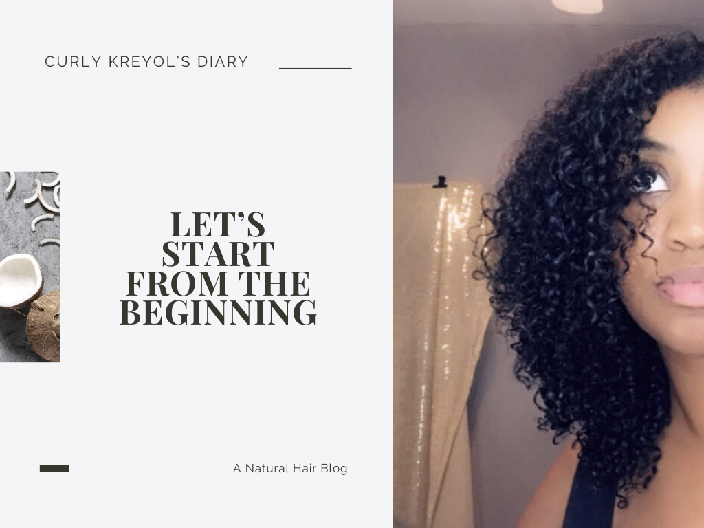 Natural Hair Blogger | Curly Kreyol's Diary #naturalhairjourney Check out my natural hair journey blog/video from beginning to end. 2016-2019.