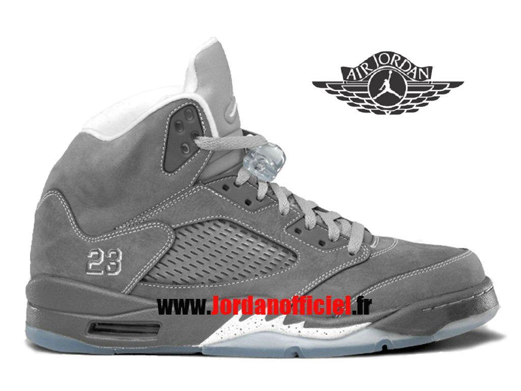 Air Jordan 5 Retro - Chaussures Baskets Offciel Pas Cher Pour Homme Wolf  Grey Jordans Officiel Site (FR)-JordanOfficiel.FR Distributeur en France.