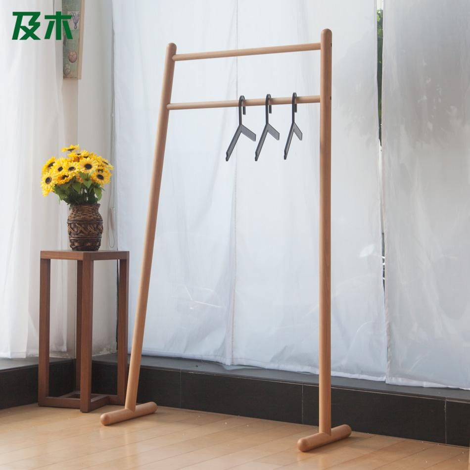Modern Furniture And Wooden Clothes Rack Creative Minimalist - Creative clothes racks
