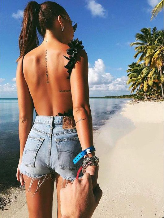 ENGLISH SHORT SENTENCE TATTOO TELLS THE GIRL'S TOUCHING STORY - Page 40 of 51 - Sciliy
