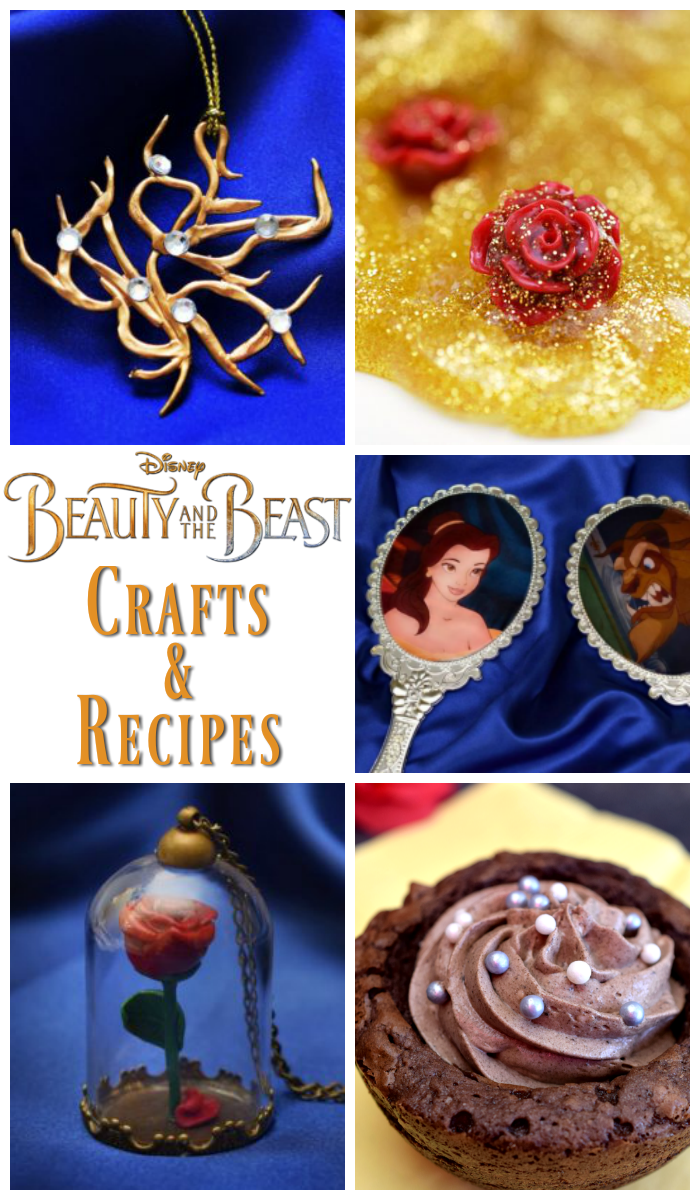 I'm sharing all of my own Beauty and the Beast projects, along with a few favorites from my friends!